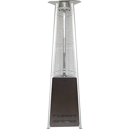 Hanover 7-Ft. Pyramid Propane Patio Heater in Hammered Bronze