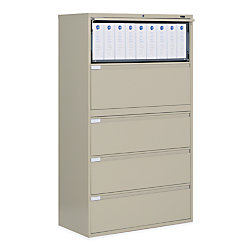 Global 9300p Lateral Filing Cabinet 5 Drawers 65 1 4 H