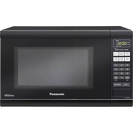 Panasonic® 1.2 Cu Ft Countertop Microwave, Black