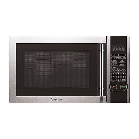 Magic Chef® 1.1-Cubic Foot Countertop Microwave, Stainless Steel