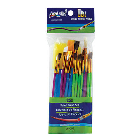 Artskills® 25-Piece Paint Brush Set