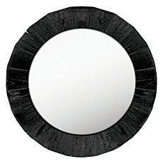 PTM Images Framed Mirror Round 28
