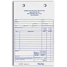Register Forms Service Invoice 2 Part