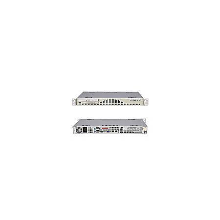 Supermicro A+ Server 1010S-MR Barebone System - ServerWorks HT1000 - Socket 939 - Opteron (Dual-core) - 1000MHz Bus Speed - 4GB Memory Support - CD-Reader (CD-ROM) - Gigabit Ethernet - 1U Rack