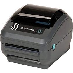 zebra gk420d direct thermal printer monochrome desktop label print