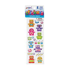 Artskills Robot Stickers Pack Of 250