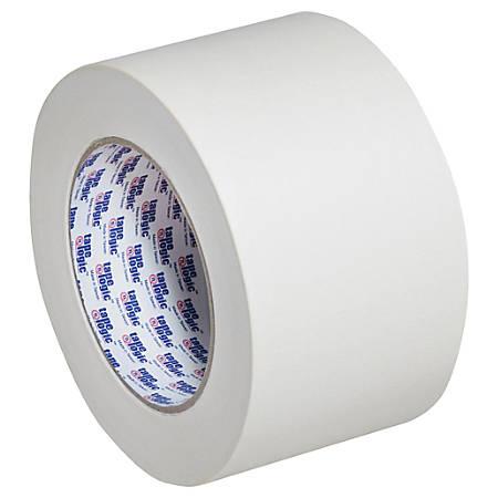 "Tape Logic® 2200 Masking Tape, 3"" Core, 3"" x 180', Natural, Case Of 12"