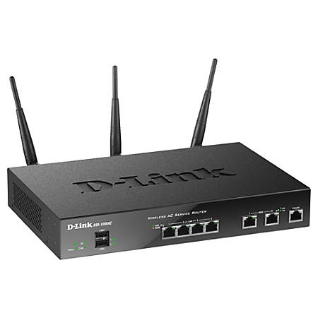 D-Link DSR-1000AC IEEE 802.11ac Ethernet Wireless Router - 2.40 GHz ISM Band - 5 GHz UNII Band - 6.75 MB/s Wireless Speed