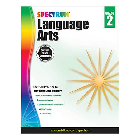 Carson-Dellosa Spectrum Language Arts Workbook, Grade 2