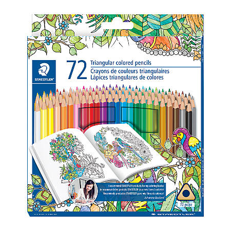 Staedtler® Color Pencils, Assorted Colors, Pack Of 72