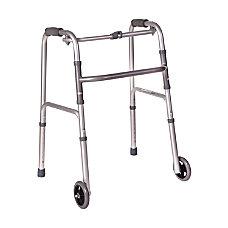 DMI Adjustable Aluminum Folding Lightweight Walker