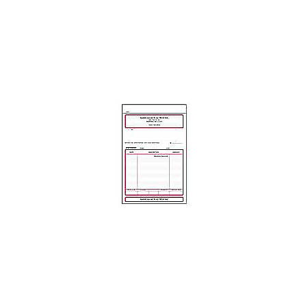 "Sales Order Forms, Statement, Ruled, 2-Part, 5 1/2"" x 7 3/4"", Box Of 250"