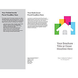 Customizable Trifold Brochure White House