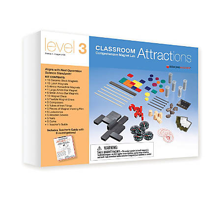Dowling Magnets Classroom Attractions Kit, Level 3, Grades 3-12
