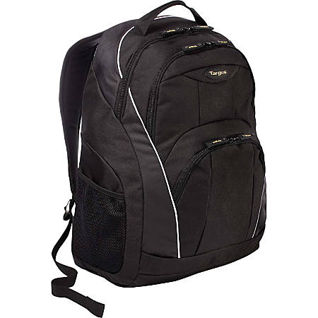 Targus TSB194US Laptop Backpack, Black/Gray