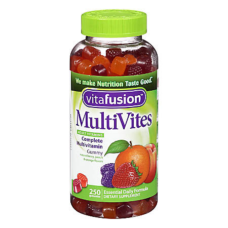 Vitafusion MultiVites Complete Multivitamin Gummies For Adults, Pack Of 250