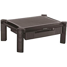 StarTechcom Adjustable Monitor Riser Drawer Monitors