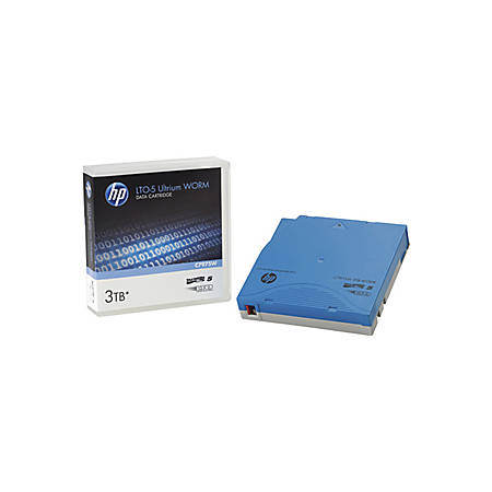 HPE LTO Ultrium 5 Non-custom Labeled Data Cartridge