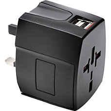 Kensington Dual Port International Travel Adapter