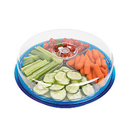 GNBI Divided Round Serving Tray 3