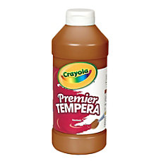 Crayola Premier Tempera Paint Brown