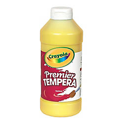 Crayola Premier Tempera Paint Yellow