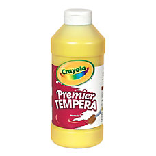 Crayola Premier Tempera Paint Yellow