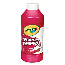 Crayola Premier Tempera Paint Red