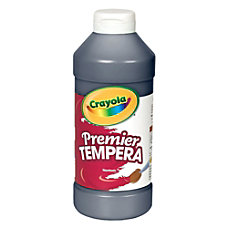 Crayola Premier Tempera Paint Black
