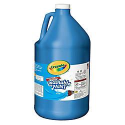 Crayola Washable Paint Blue Gallon