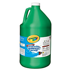 Crayola Washable Paint Green Gallon