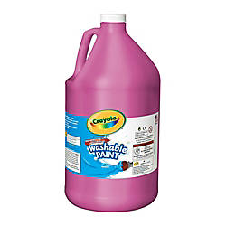 Crayola Washable Paint Magenta Gallon