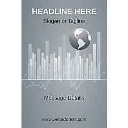 Custom Poster Business Globe Vertical