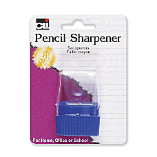 CLI Cone Receptacle Pencil Sharpener Plastic