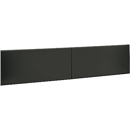 "HON®38000 Series Flipper Door for 60"" Hutch, Charcoal"