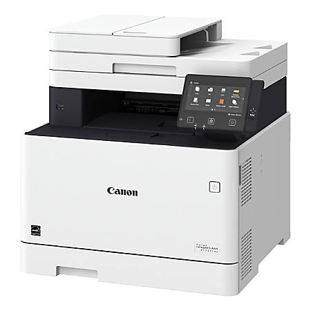 Canon imageCLASS® MF733Cdw Wireless Color Laser All-In-One Printer, Scanner, Copier, Fax, 1474C009