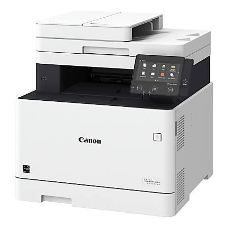 Canon imageCLASS® MF733Cdw Wireless Color Laser All-In-One Printer, Scanner, Copier, Fax, 1474C009