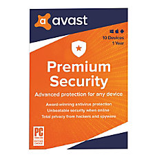 Avast Premium Security 2020 For PCMac