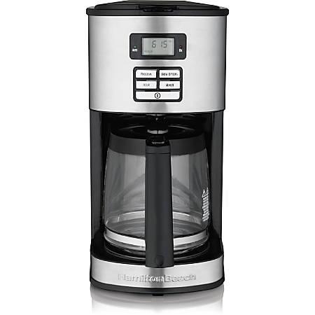 Hamilton Beach 12 Cup Programmable Coffeemaker 49618