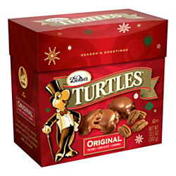 turtles original christmas candy dish 135 oz box