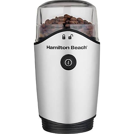 Hamilton Beach 80350 Coffee Grinder - Silver