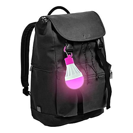 "4ID Power Orbz LED Bulb, 6 1/4""H x 3""W x 1""D, Pink"