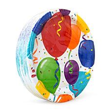 Artstyle Birthday Round Paper Plates 10