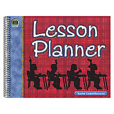Teacher Created Resources Large Plaid Lesson