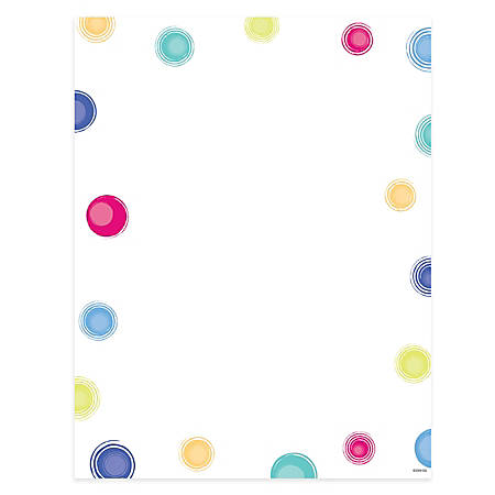 "Gartner™ Studios Design Paper, 8 1/2"" x 11"", 60 Lb, Multi-Dot, Pack Of 100 Sheets"