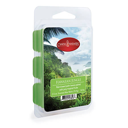 Candle Warmers Etc Wax Melts, Hawaiian Jungle, 2.5 Oz, Case Of 4 Packs