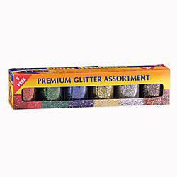 Hygloss Glitter Assortments 075 Oz Assorted