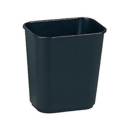 Rubbermaid® Durable Polyethylene Wastebasket, 3 1/4 Gallons (12.3L), Black