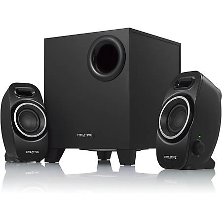 Creative A250 2.1 Speaker System - 9 W RMS - Black