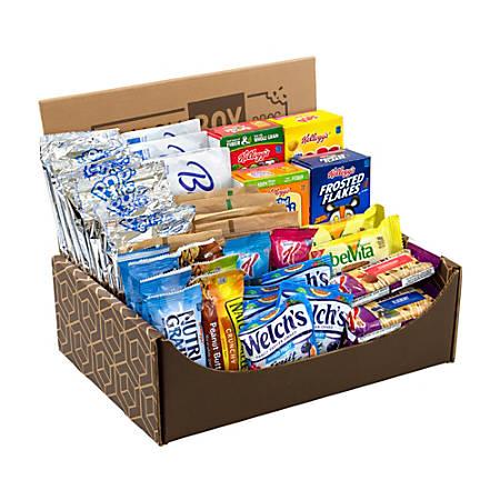 Snack Box Pros Breakfast Snack Box, 5.02 Lb